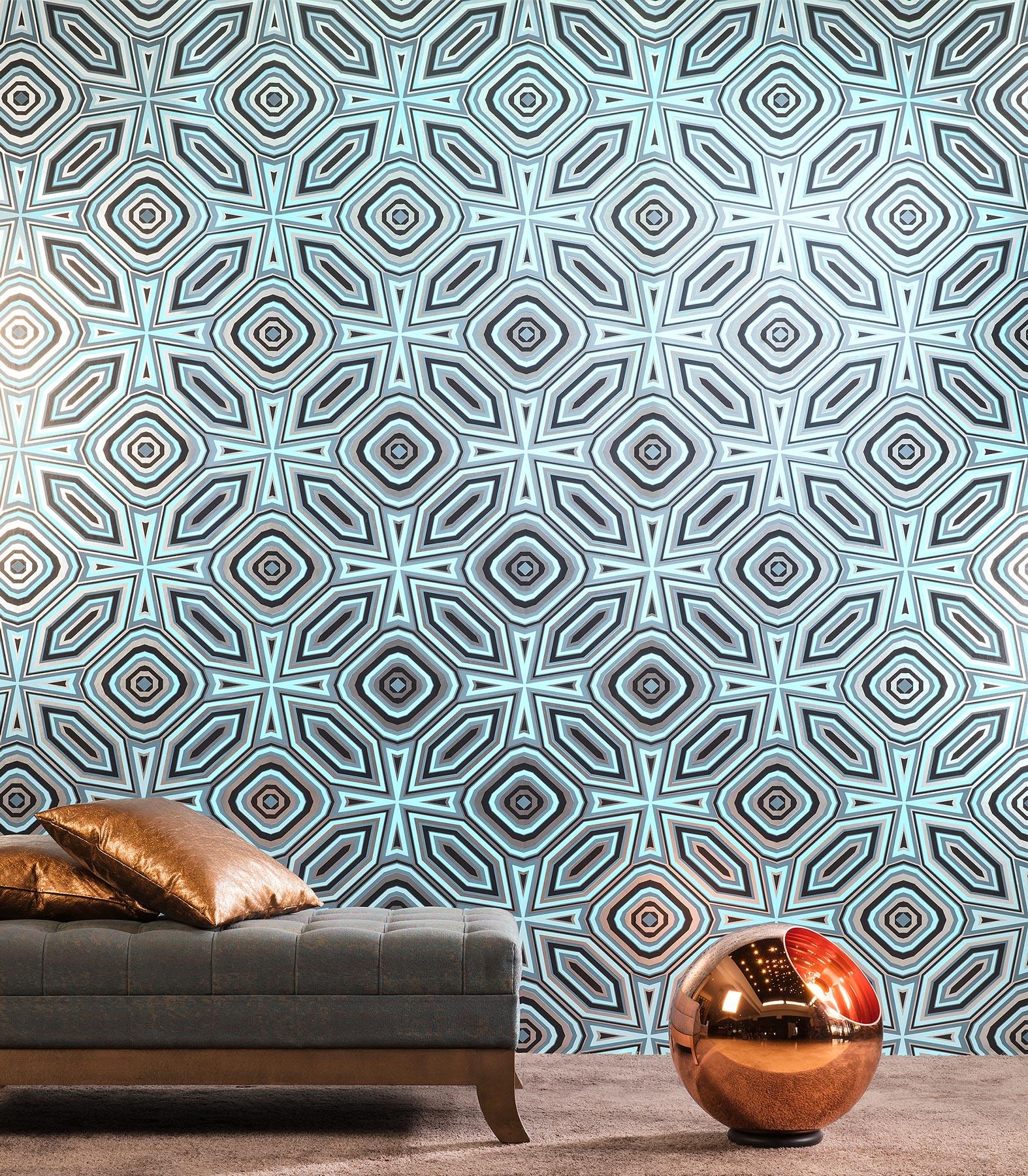 Pattern Highway 66 Flavorpaperforarte